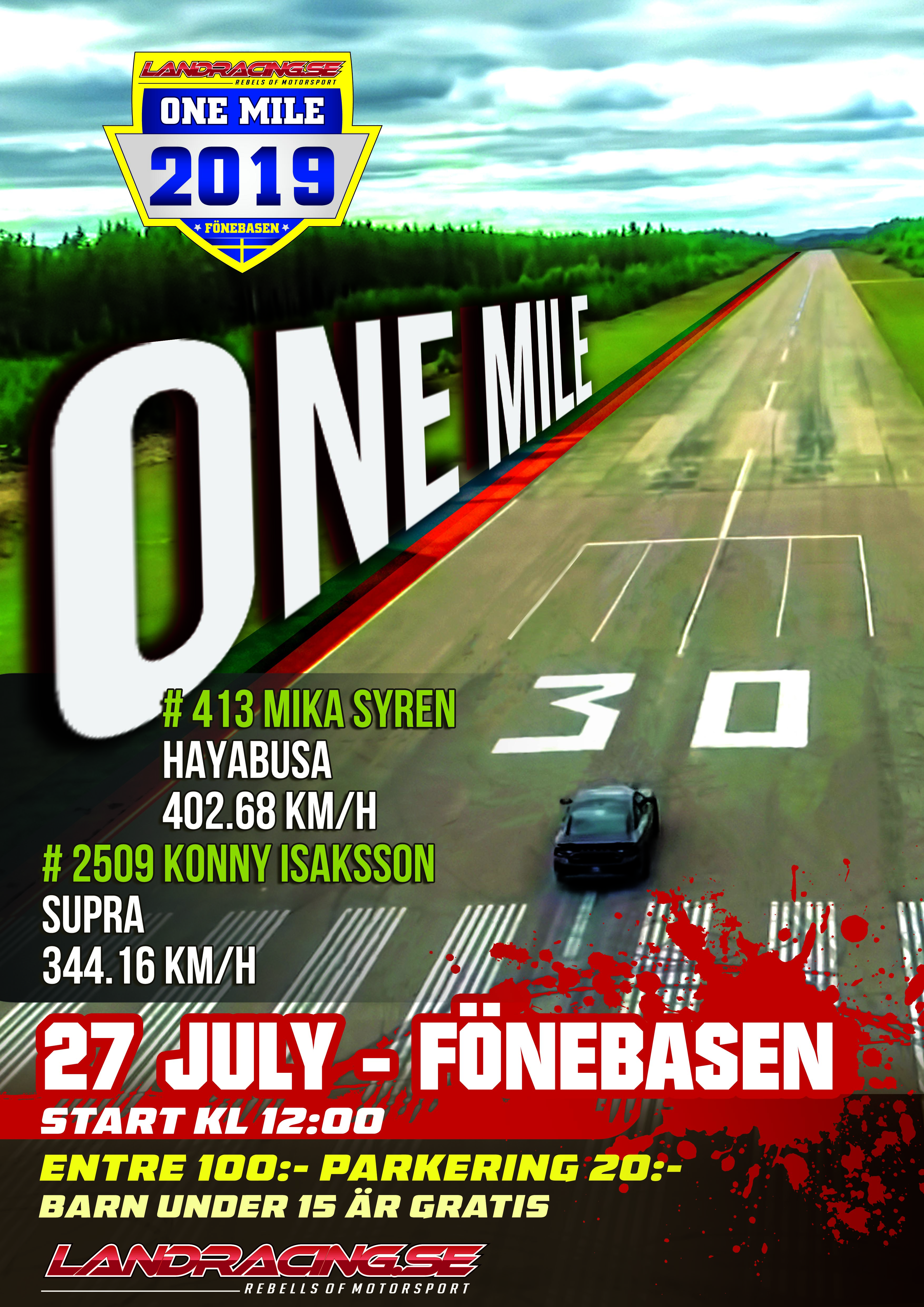 ONE MILE-2019-4